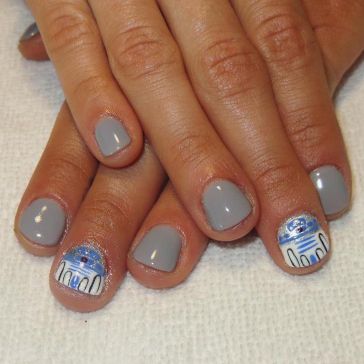 brooklyn star wars nail art
