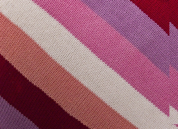 Colorful Fabric Weave Texture
