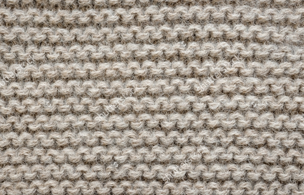 Natural Wool Knit Texture