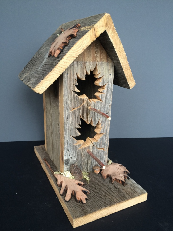 17+ Rustic Birdhouse Designs, Ideas | Design Trends - Premium PSD ...
