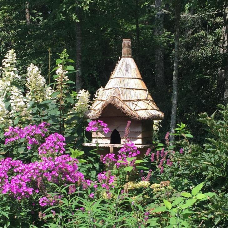 rustic outdoor birdhouse