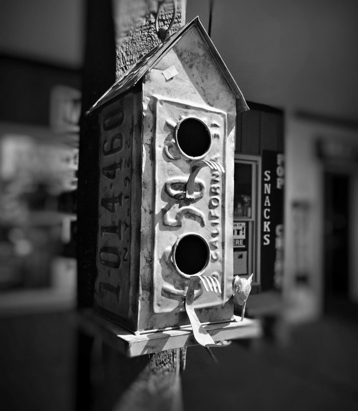Old Rustic Birdhouse