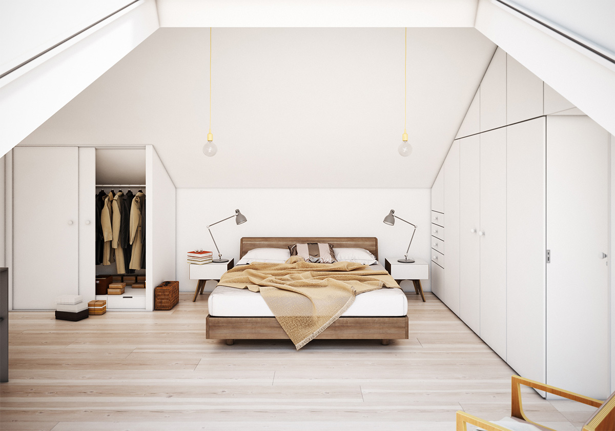 18 Loft Style Bedroom Designs Ideas Design Trends