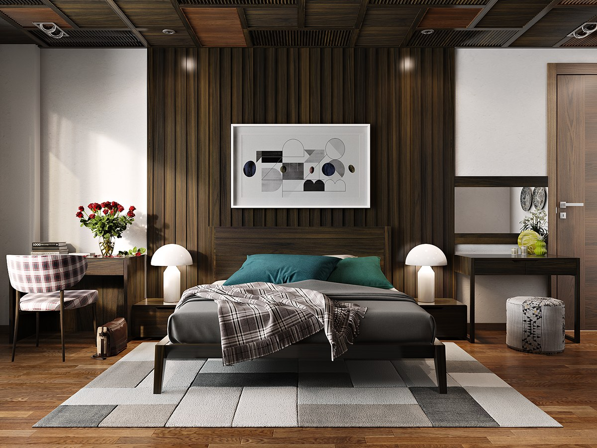 Urban Loft Bedroom Idea
