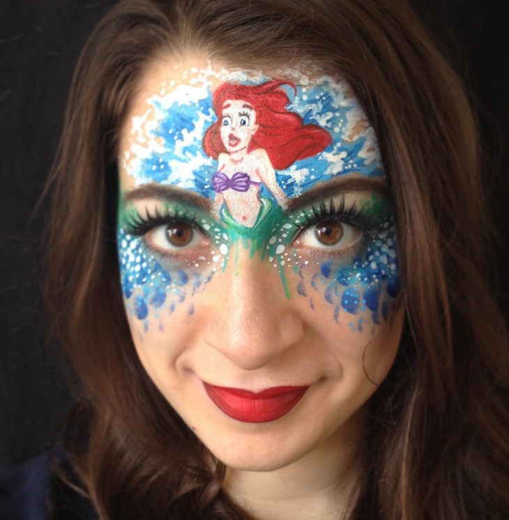 mermaid disney makeup