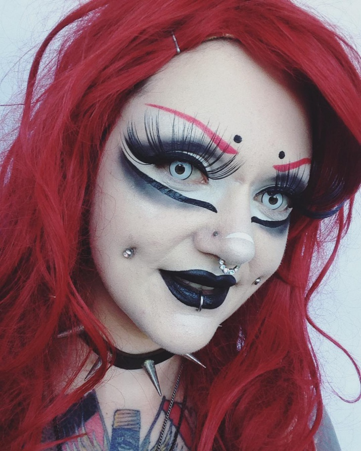 disney cosplay makeup design