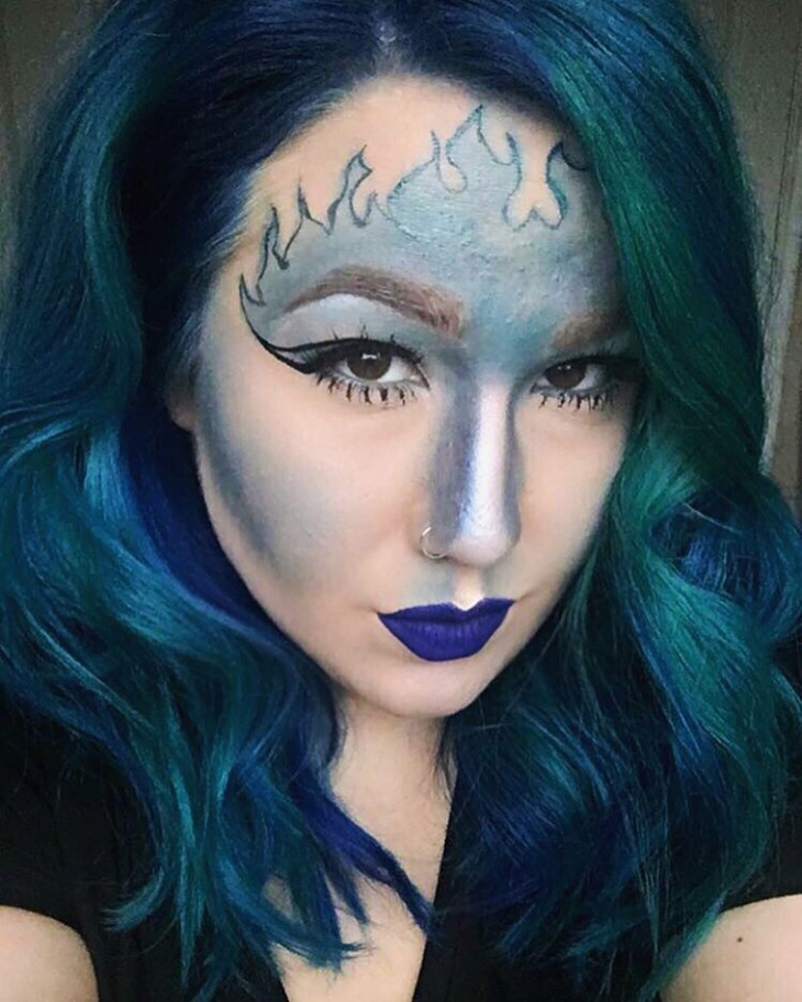 elegant disney makeup idea