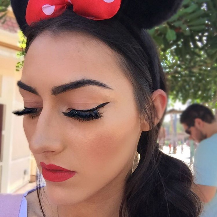 cool disney eye makeup