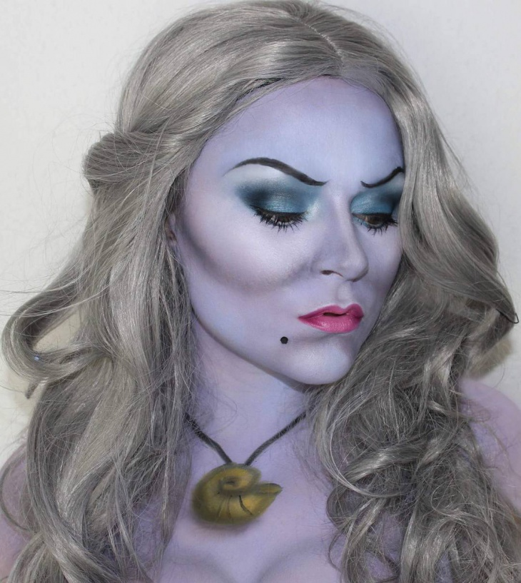 creative disney makeup idea