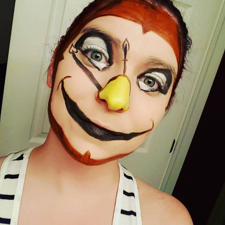 cute disney makeup design