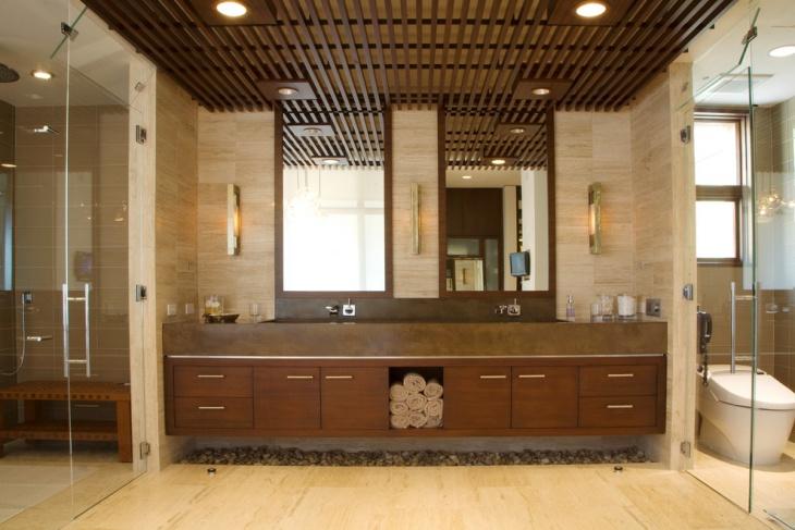 chalet bathroom vanity