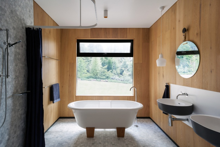 chalet bathroom interior design
