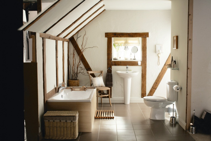 small chalet bathroom