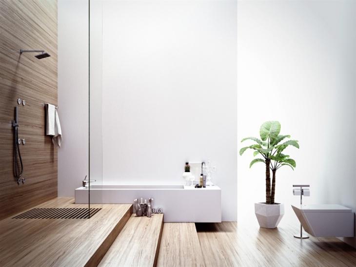 classic chalet bathroom design