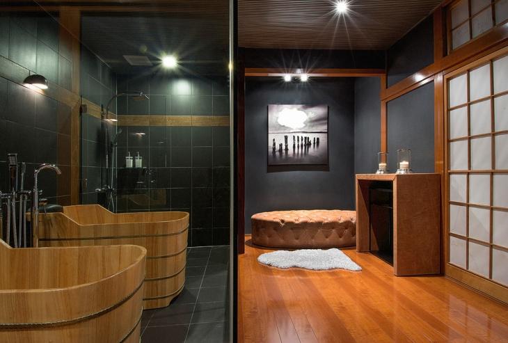 ski chalet bathroom design