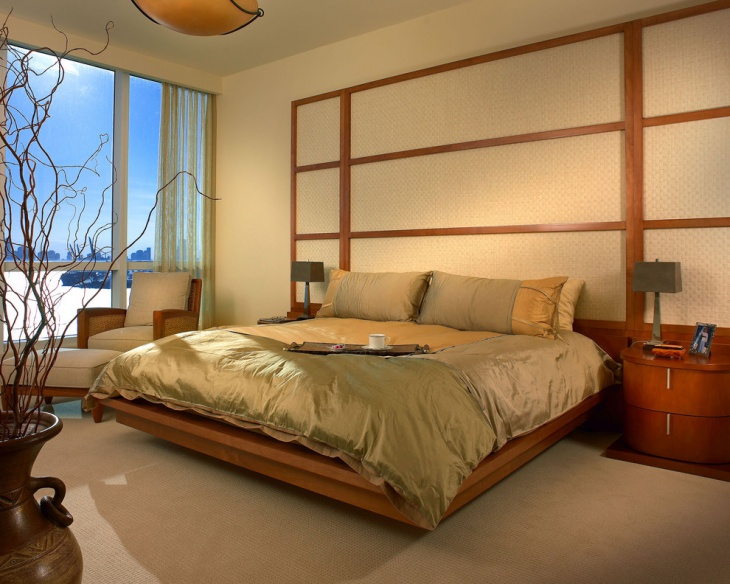 contemporary zen bedroom design