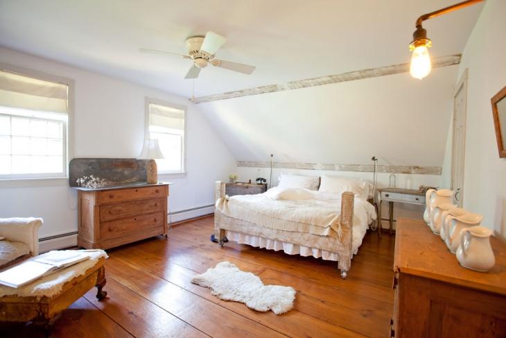 Rustic Zen Style Bedroom