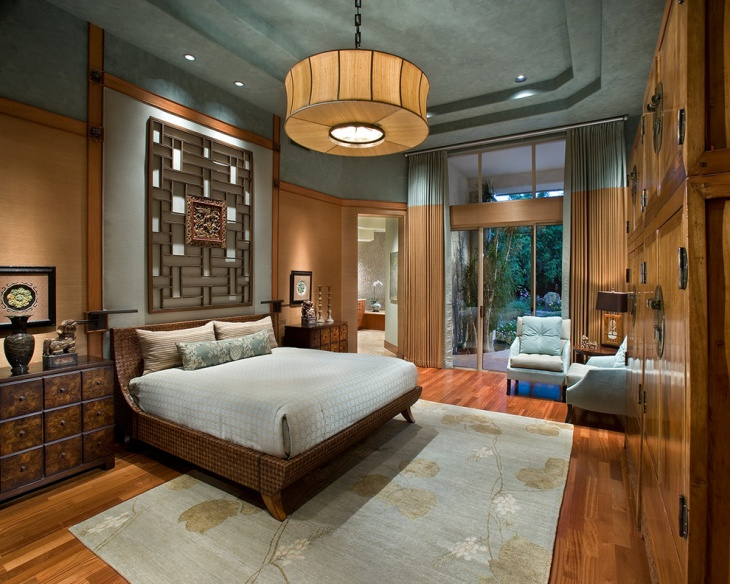zen inspired bedroom design