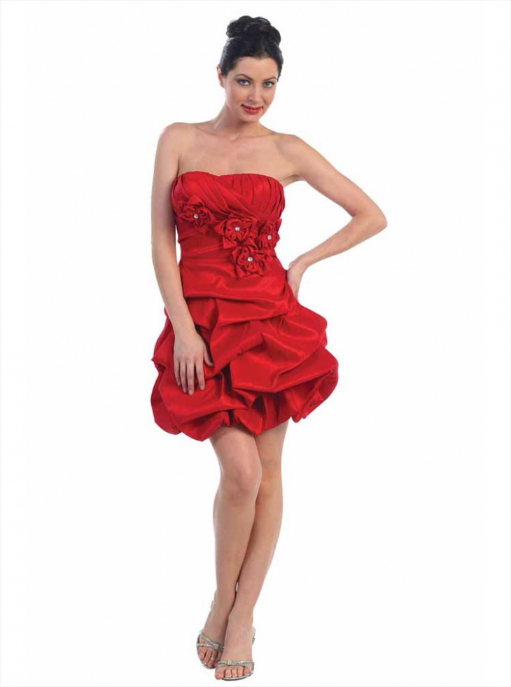 balloon dress for prom