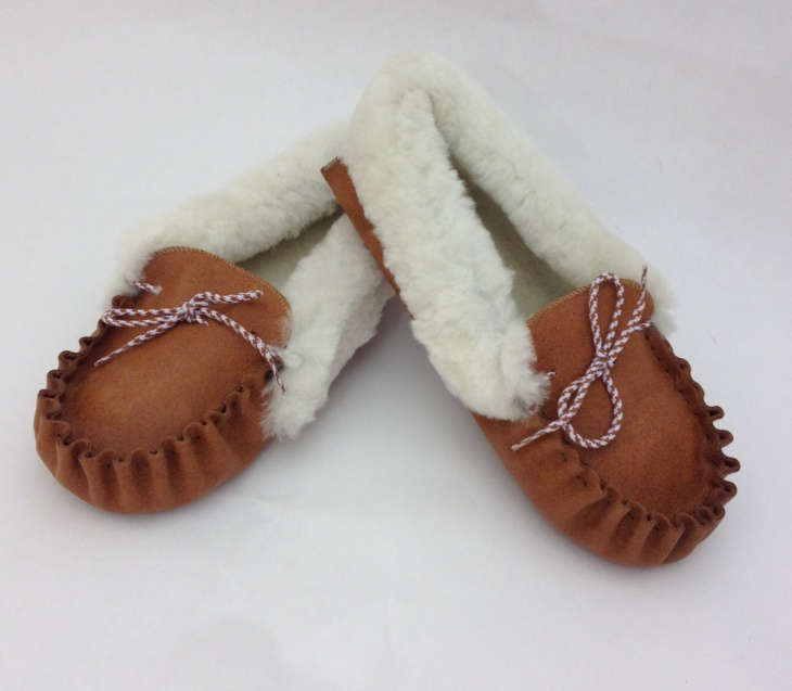 Genuine Fur Shoes Design