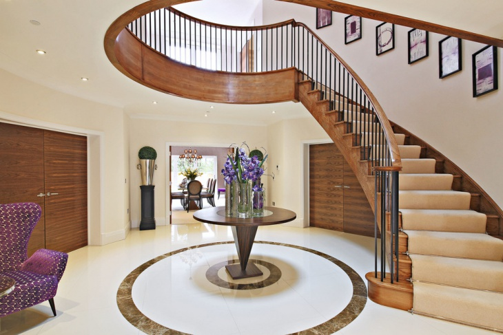 Wood Stair Railing Design