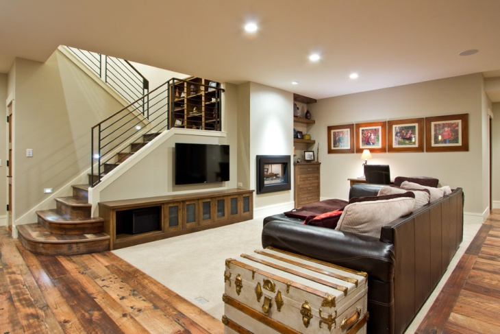 Basement Stairs Design: 17+ Stair Railing Designs, Ideas