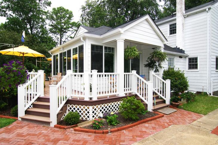 porch stair railing