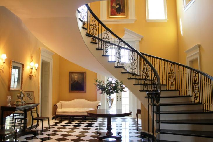 amazing stair railing design