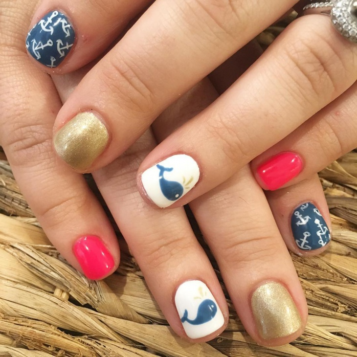 dolphin anchor nails