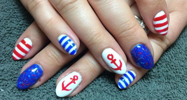 21 Anchor Nail Art Designs Ideas Design Trends Premium Psd