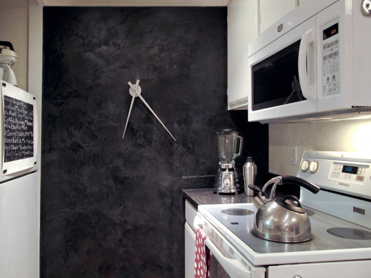 Contemporary Kitchen Wall Clock