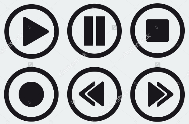 Media Player Stop Buttons