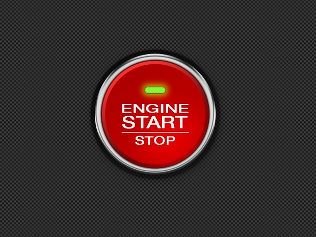 Engine Start and Stop Buttons