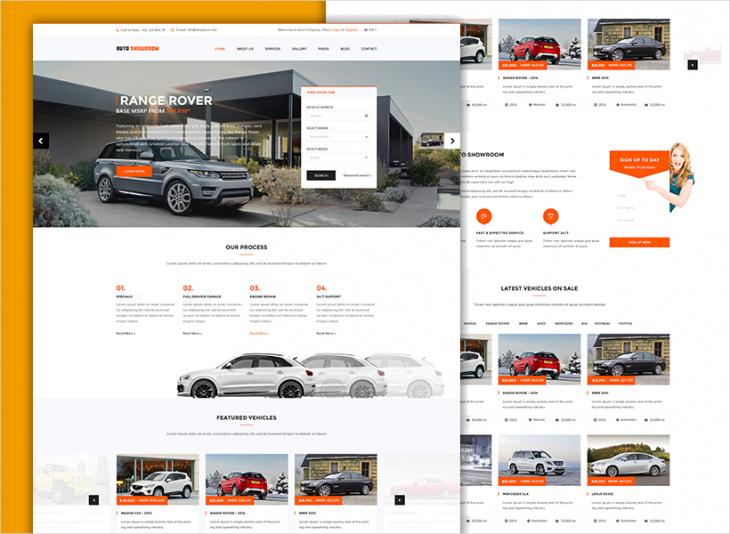 Simple Car Dealer WP Theme