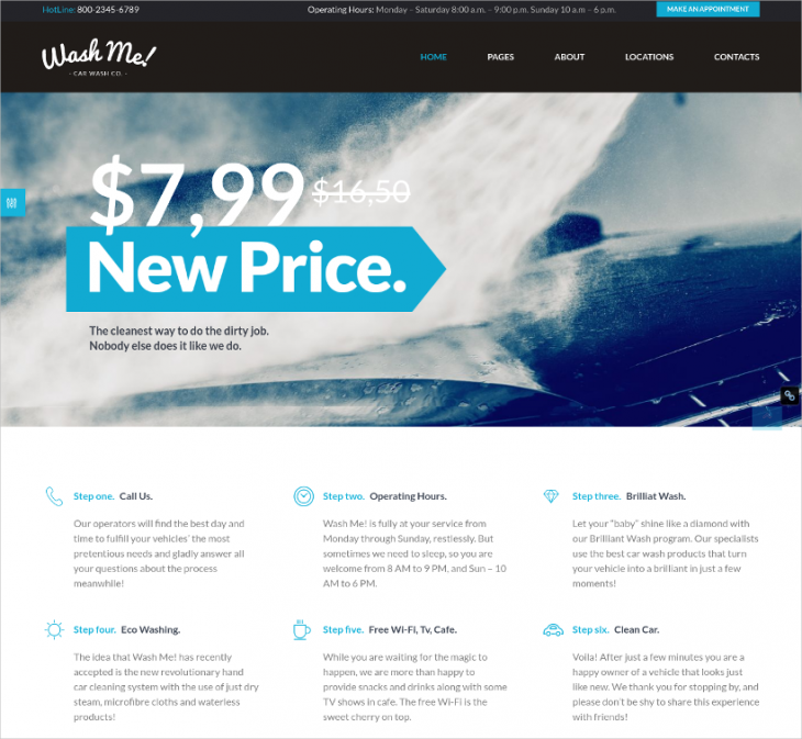 repair wordpress car dealer theme