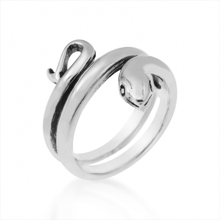 wrap around snake ring