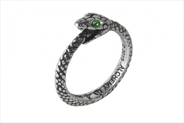 simple snake ring design