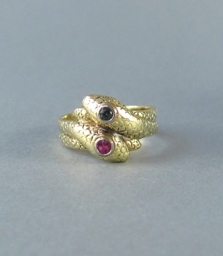 gold snake ring for wedding