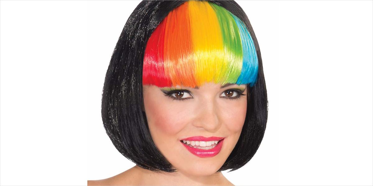 Rainbow Bangs