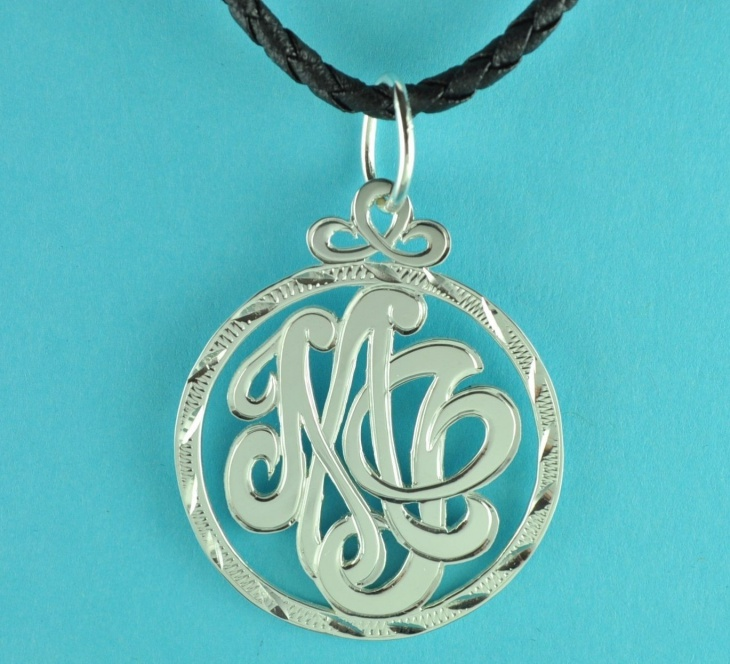 handmade monogram jewelry