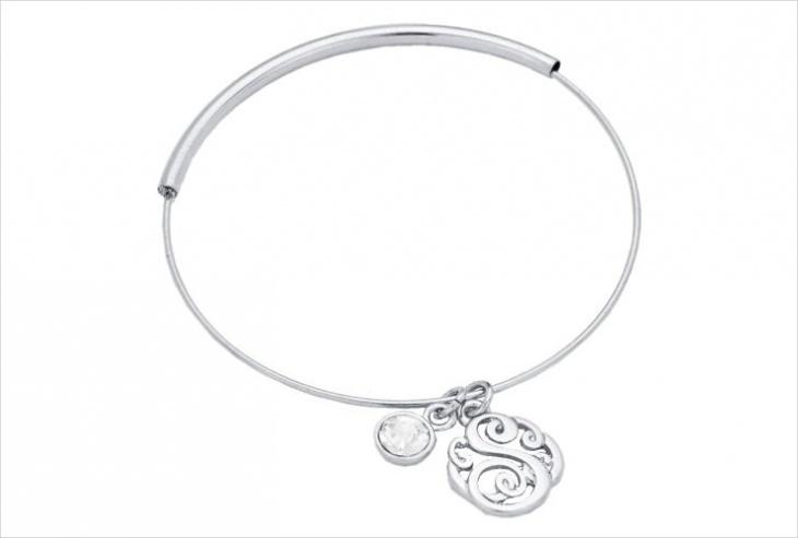 Monogram Script Bracelet Design