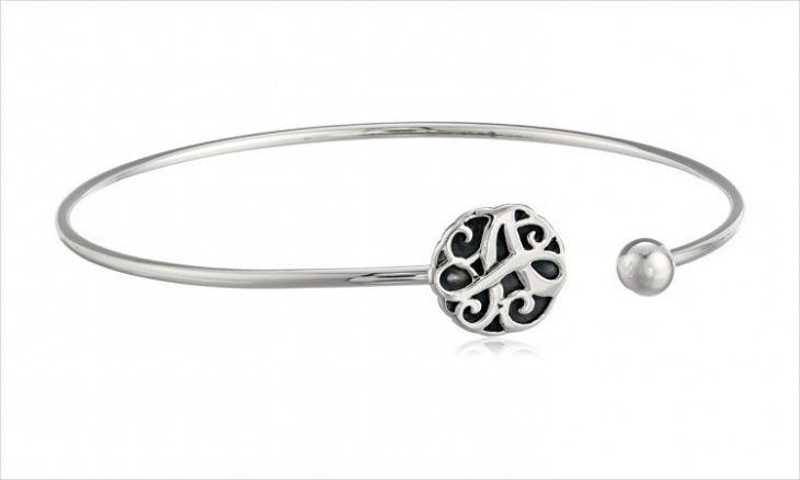 monogram cuff bracelet idea
