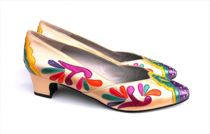 Retro Psychedelic Shoes