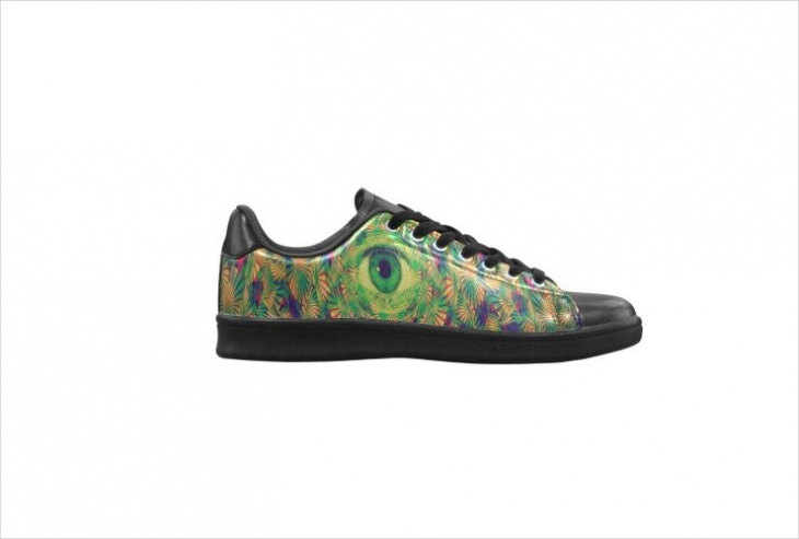 Psychedelic Art Shoes Design