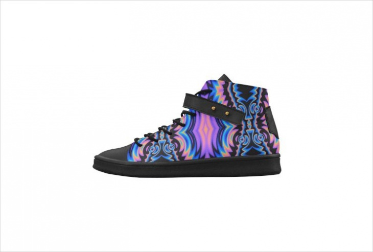 Unique Psychedelic Shoes Idea