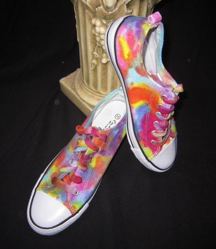 Pretty Psychedelic Shoes