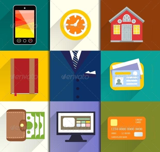 Entrepreneur Icon Set
