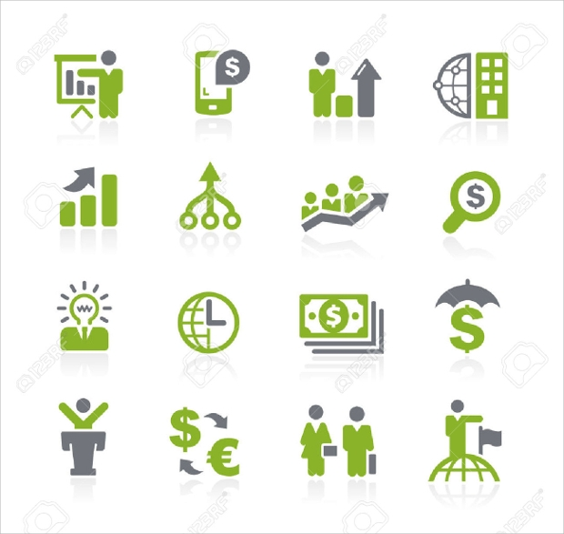 Business and Finance Icons
