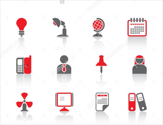 Business professional Icon set