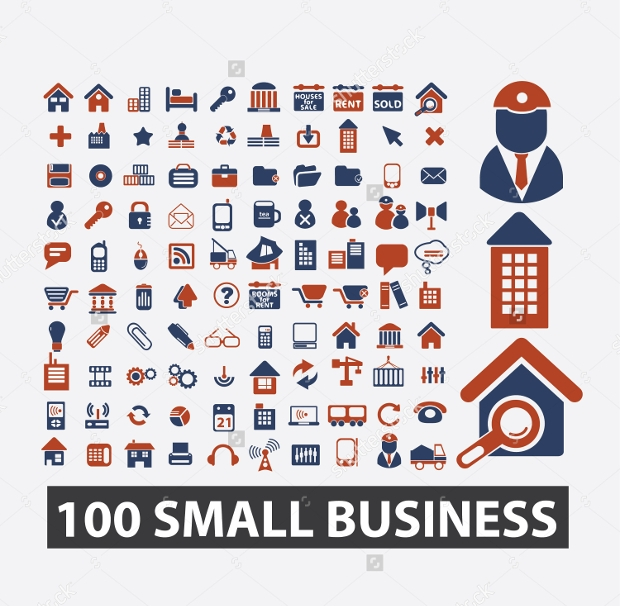 small business icons